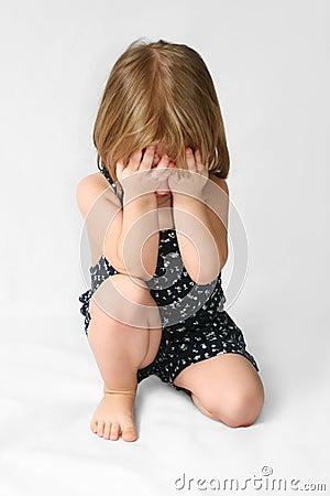 Free Sad Child Royalty Free Stock Photo - 5573965