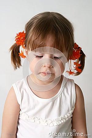 Free Sad Child Royalty Free Stock Image - 5573976