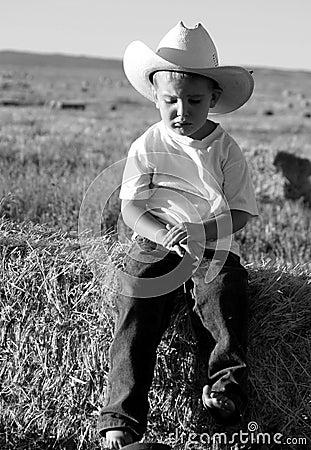 Sad Cowboy Stock Photos - Image: 18908813