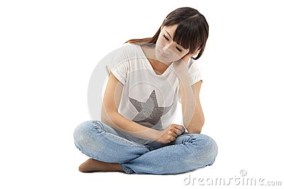 Sad and Depression young woman