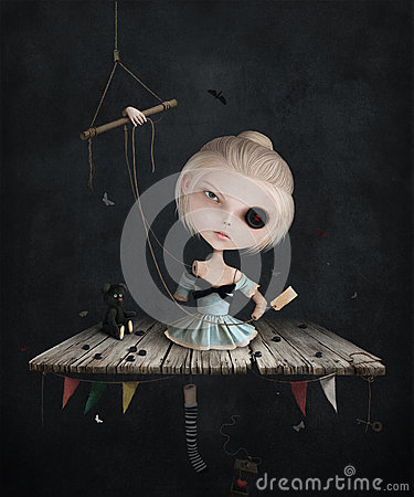 Free Sad Doll Royalty Free Stock Images - 70259639