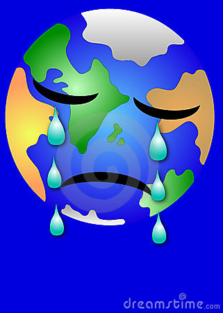 Sad Earth Stock Images - Image: 1645224