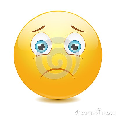 Free Sad Emoticon Stock Image - 37031601