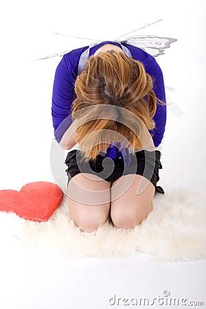 Free Sad Girl Stock Images - 14173664