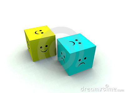 Sad And Happy Cube 2