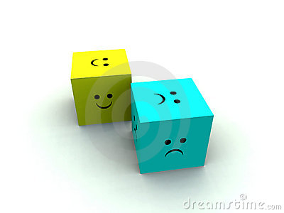 Sad And Happy Cube 3