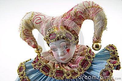 Sad harlequin
