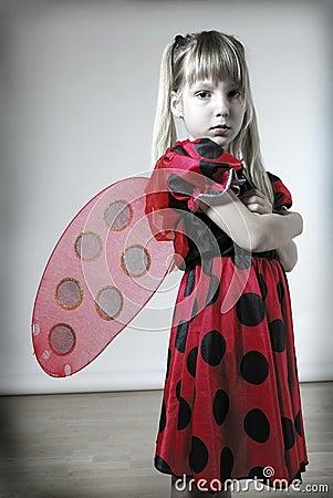 Sad ladybird