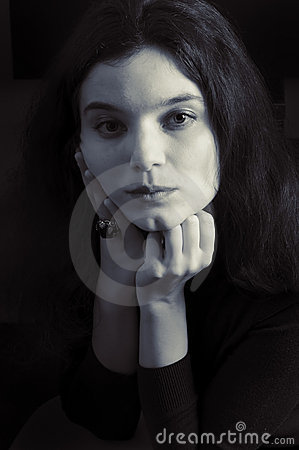 Free Sad Look Stock Photography - 18492022