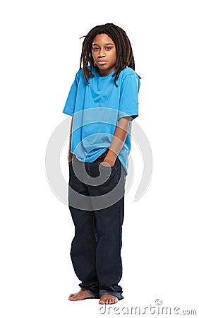 Free Sad Rasta Boy Royalty Free Stock Images - 22152039