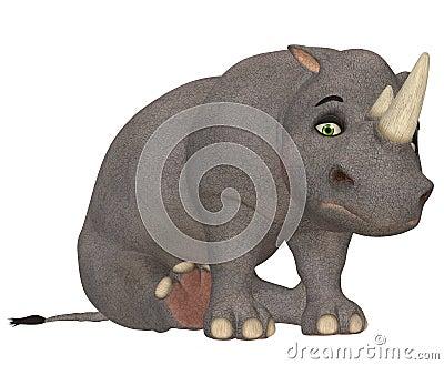 Sad Rhinoceros