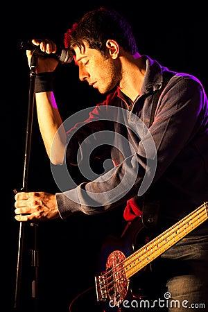 Sad Singer with Bass
