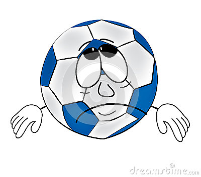 *** Sperem *** 13th sezione _ - Pagina 39 Sad-soccer-ball-cartoon-vector-illustration-white-background-43151759