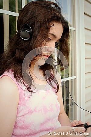 SAD teen för musik mp3