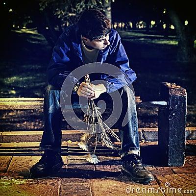 Free Sad Teenager Royalty Free Stock Images - 45367389