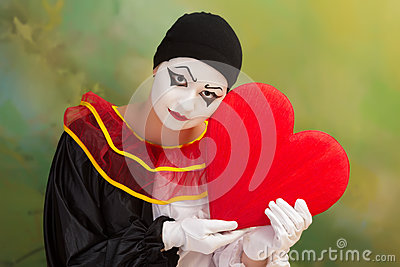 Sad Valentine Pierrot