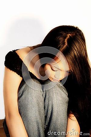 Free Sad Woman Royalty Free Stock Images - 1196329