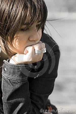 Free Sad Woman Stock Images - 4612554