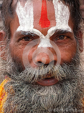 Saddhu, Pashupatinath, Nepal Editorial Image
