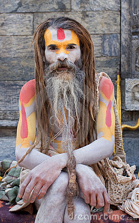 Sadhu (holy man) Editorial Photography