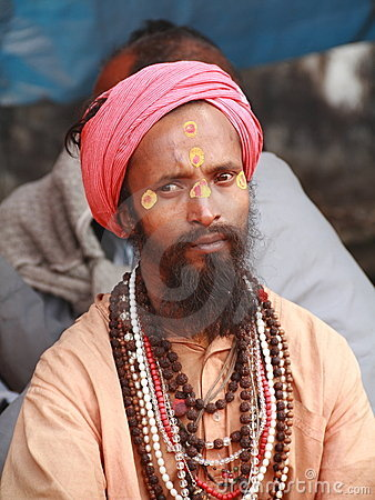 SADHU,HOLY MEN OF INDIA Editorial Photo