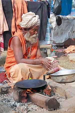 SADHU,HOLY MEN OF INDIA Editorial Stock Image