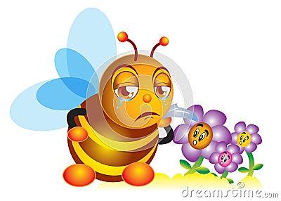 Sadness bee