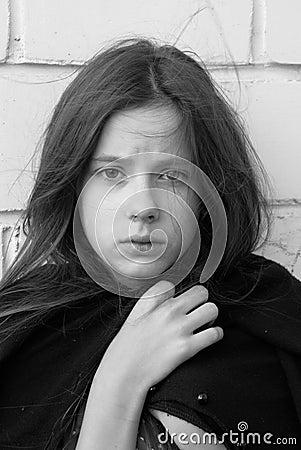 Free Sadness Girl Royalty Free Stock Photos - 6001258