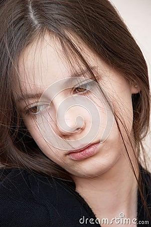 Free Sadness Girl Royalty Free Stock Image - 7658086