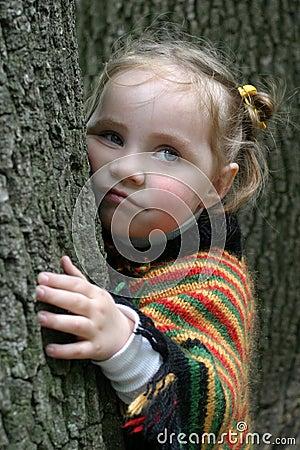 Free Sadness Littel Girl Stock Photo - 3043940