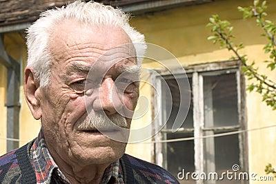 Sadness old man