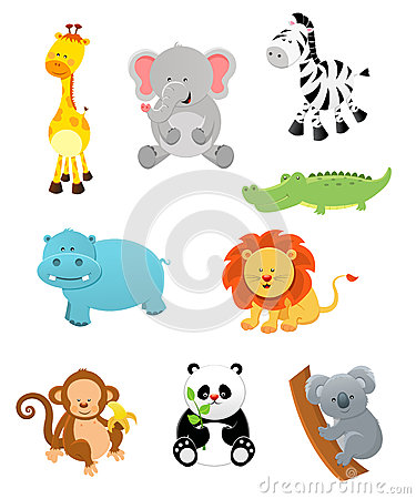Free Safari Animals Stock Images - 33760314