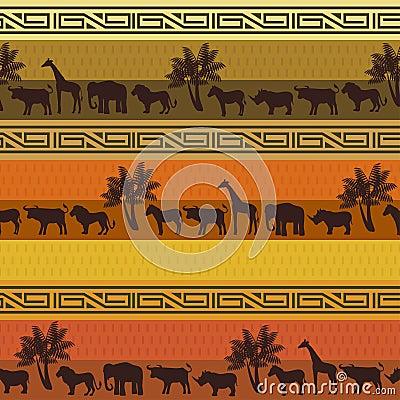Safari pattern background