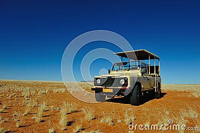 Safari vehicle (Namibia)