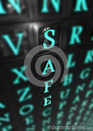 Safe 3d word