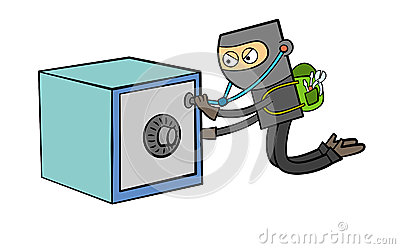 Safe burglar