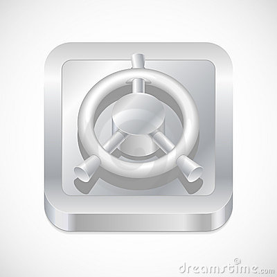 Safe button icon