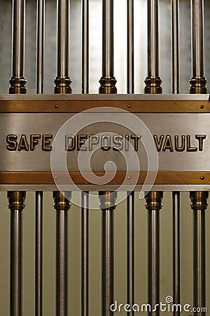 Safe Deposit Vault Vertical