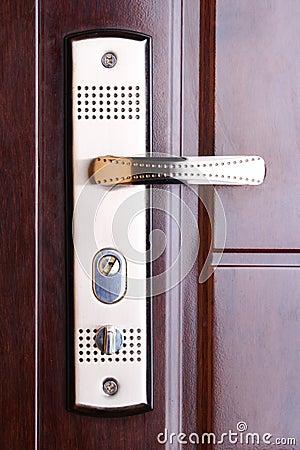 Safe door. closed