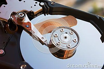 Safe hard disk