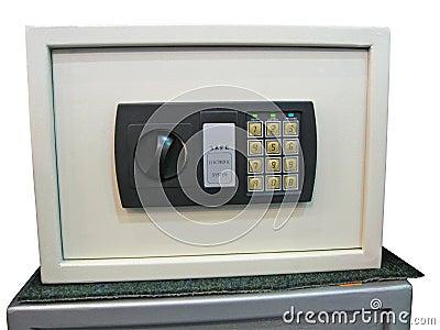 Safe key lock, savings, control panel, security