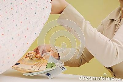 Safe money - hiding money under pillow