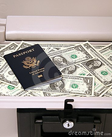Safe Money and Passport
