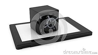 3d Safe on a tablet pc