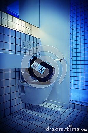 Safe toilet bowl