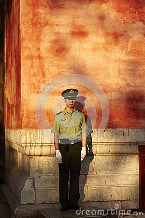 Free Safeguard On Stand Sentry Duty Royalty Free Stock Photos - 98405798
