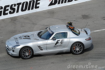 Safety Car Editorial Image