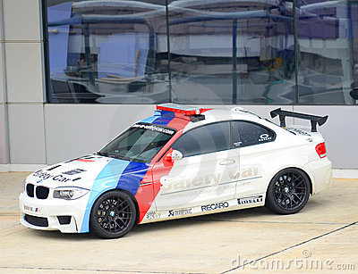 Safety car at Sepang International Circuit. Editorial Photography
