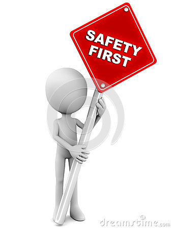 Free Safety First Royalty Free Stock Photography - 28474927