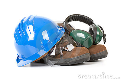 Safety Gear Stock Image - Image: 3241391